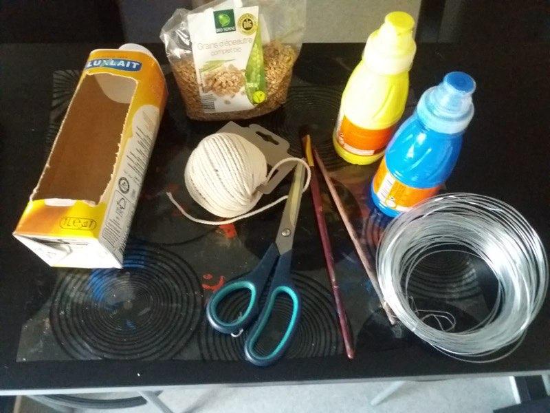 Abdennour (MS) - Matériel pour fabrication mangeoire