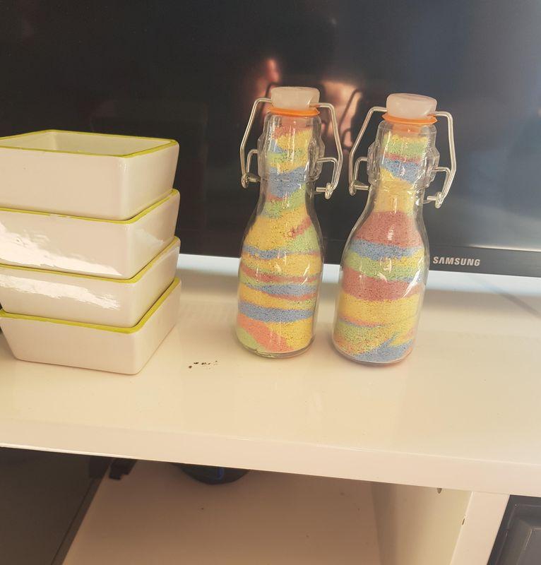 Ethan (MS) - sel coloré en bouteille
