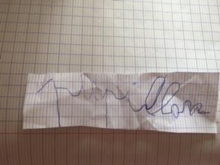 Manuel (GS) - écriture en lettres cursives du mot papillon