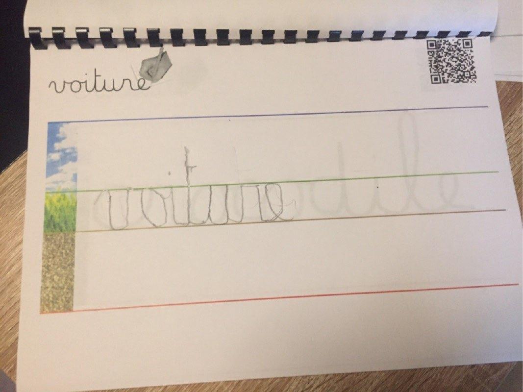 Nadi (GS) - écriture cursive de voiture