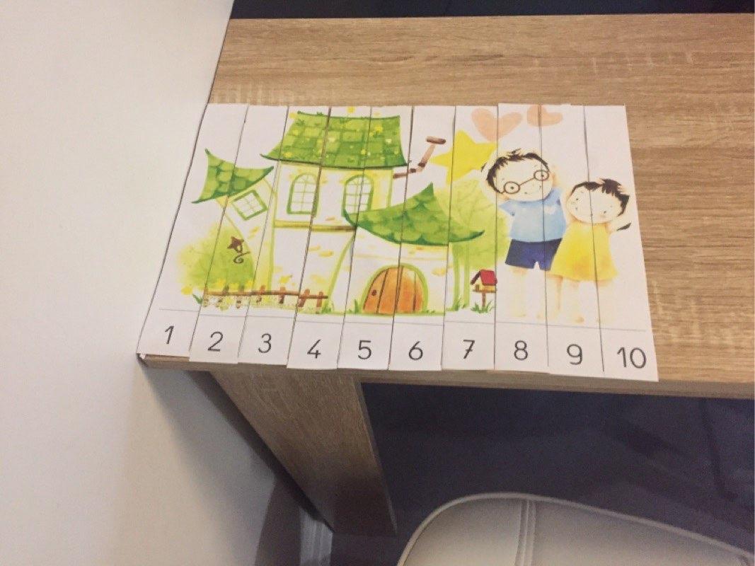 Nadi (GS) - Puzzle numérique jusqu'à 10